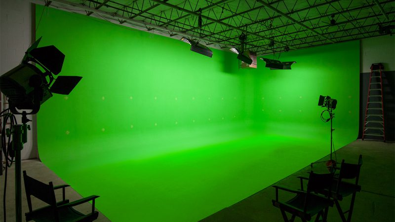Kinopicz Studio Green Screen Cyc